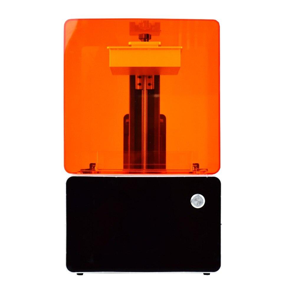 Высокое разрешение слой высота 0,025 мм SLA 3D принтер для ювелирных изделий прототипирования with1kg смолы