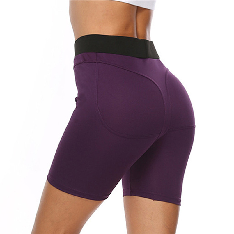 Sport Accessories Women Sexy Yoga Leggings High Waist Slim Solid Short Leggings Sport Fitness Short Sport 40MY24 (19)