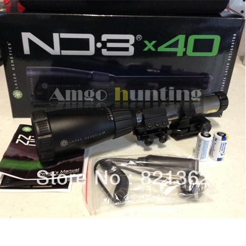 ND3X40 Long Distance Laser Designator ND3 Genetics Green Laser as Tactical Laser