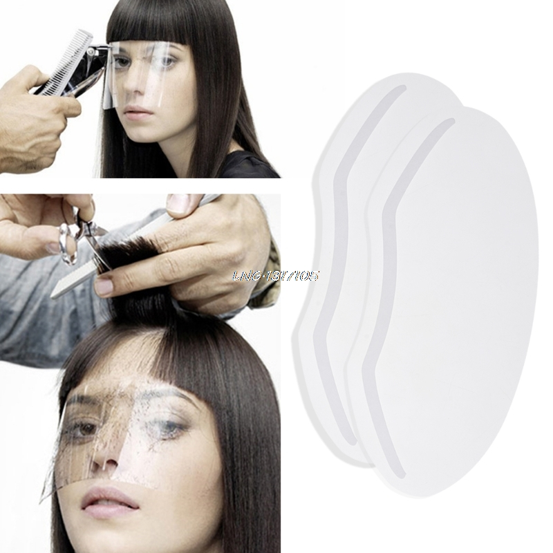 Bright 1pc Haircut Face Mask Hairspray Perfume Mask Shield Eyes Face Protector Plastic Hair Care & Styling Styling Tools