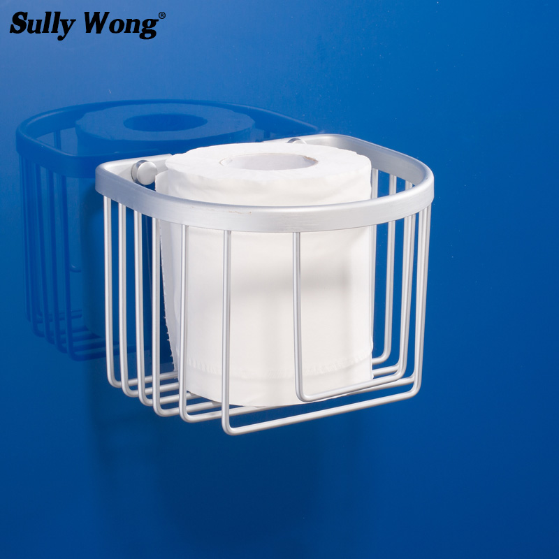 Sully House Space Aluminum Bathroom Basket Shelf,roll stand Toilet Paper holder rack Bathroom Shelves Accessorie shipping freeSully House Space Aluminum Bathroom Basket Shelf,roll stand Toilet Paper holder rack Bathroom Shelves Accessorie shipping free