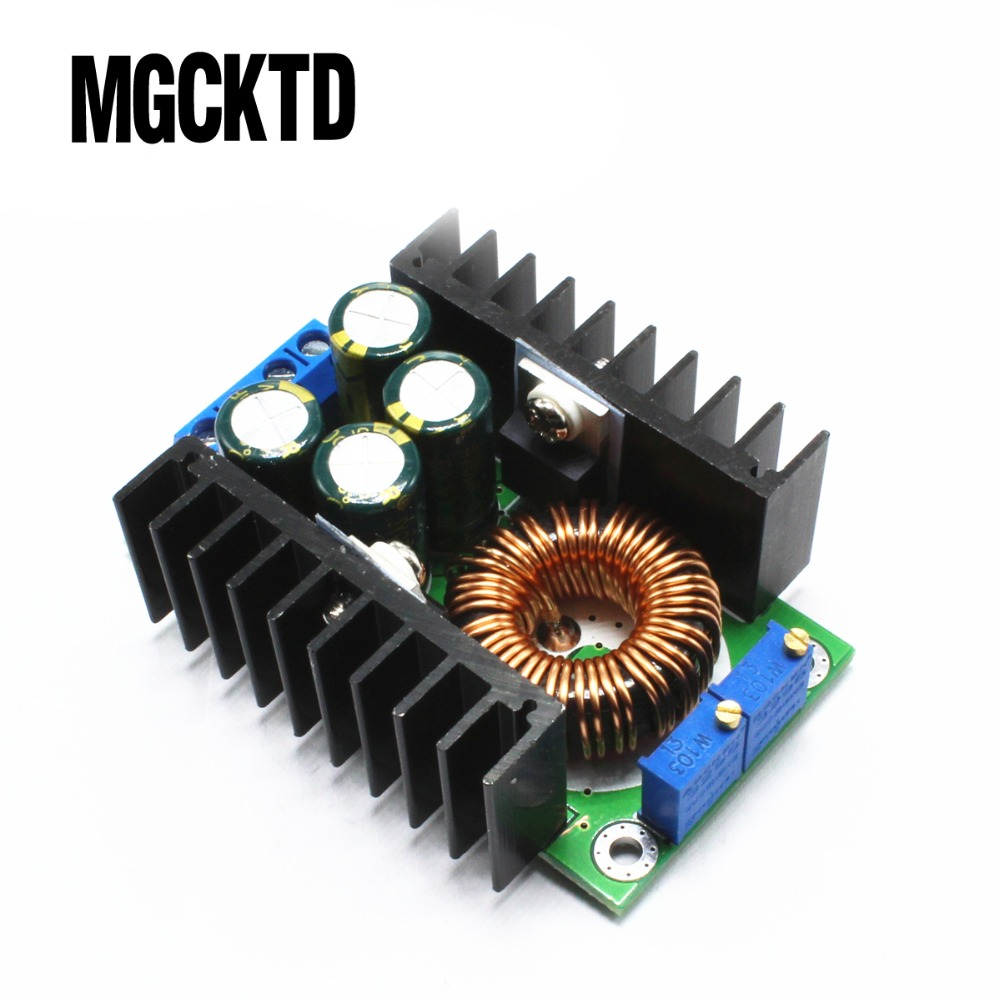 <font><b>300W</b></font> XL4016 <font><b>DC</b></font>-<font><b>DC</b></font> Max 9A Step Down Buck Converter 5-40V To 1.2-35V Adjustable Power Supply Module LED Driver for Arduino image