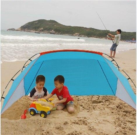 Outdoor Summer Camping Tent Gazebo Beach Sun Shelter Uv Protection Shade Awning Fishing