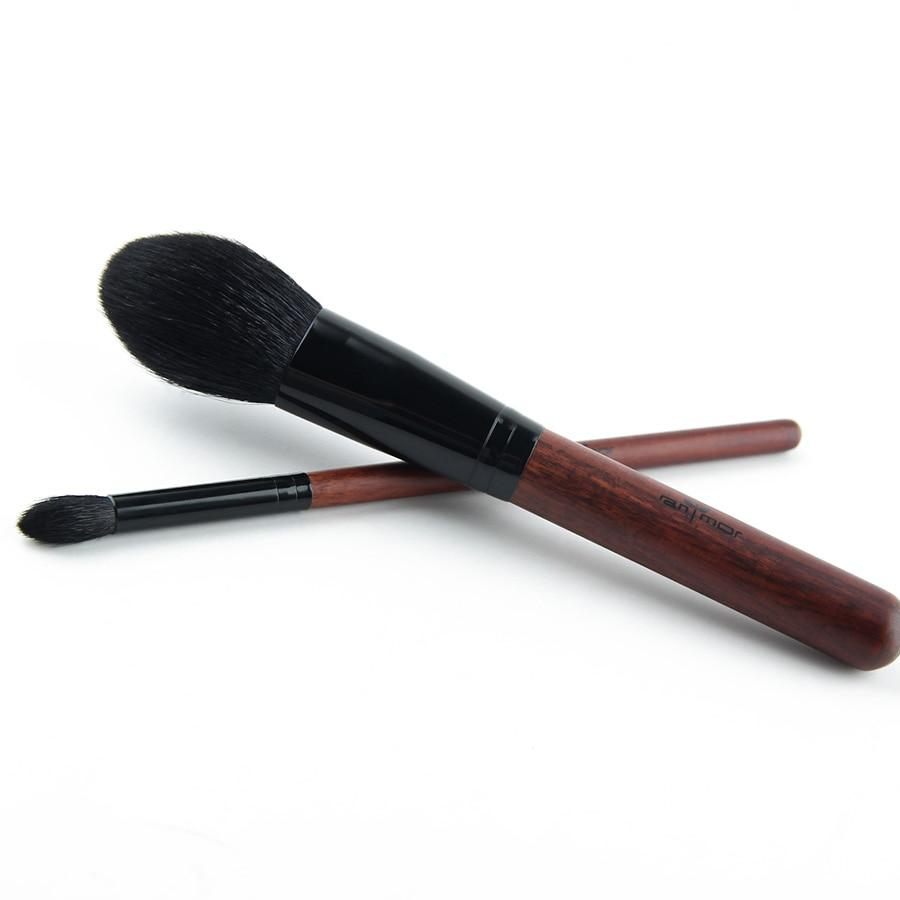 Anmor Professional Pędzle do makijażu Zestaw 2-częściowy Soft - Makijaż - Zdjęcie 2