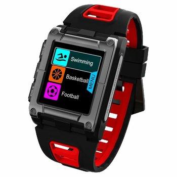 GPS Saat Pusula Kol Saati Bluetooth akıllı saat Su Geçirmez Yüzme Kalp Hızı erkek spor saat parça