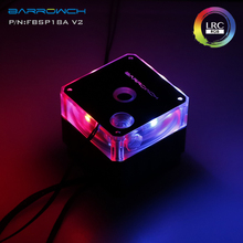 Pwm-Pump Barrow AURA Rgb 3pin D5 Regulation-Pump 1100l/H Header-Light Flow-Lift Mo Maximum