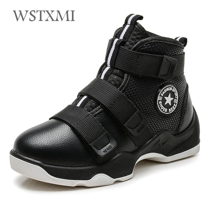 Autumn Winter Kids Boots Boys Shoes Genuine Leather Fashion Ankle Snow Boots Plush Warm Sneakers Waterproof Children Martin Boot