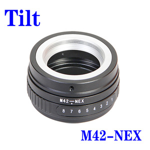 Image 5 - Foleto הטיה M42 בורג הר עדשת מתאם טבעת M42 NEX M42 FX M42 M43 כדי עבור EOS M FUJIFIM Panasonic sony NEX E NEX7 NEX 5 מצלמה