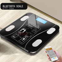 AIWILL Household LED Digital Weight Bathroom Balance Bluetooth Android or IOS Body Fat Scale Floor Scientific Smart Electronic