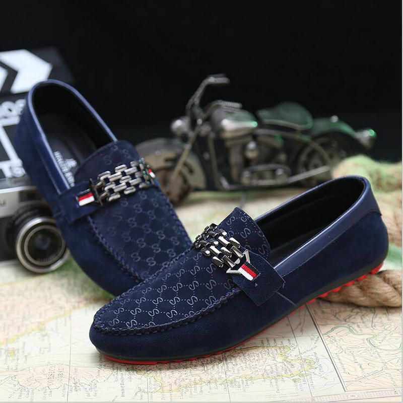 2017 Spring New Slip On Casual Men Shoes Red