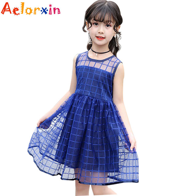 facad82f4 Dresses For Girls 2018 Summer Baby Kids Dresses For Girls Lace ...
