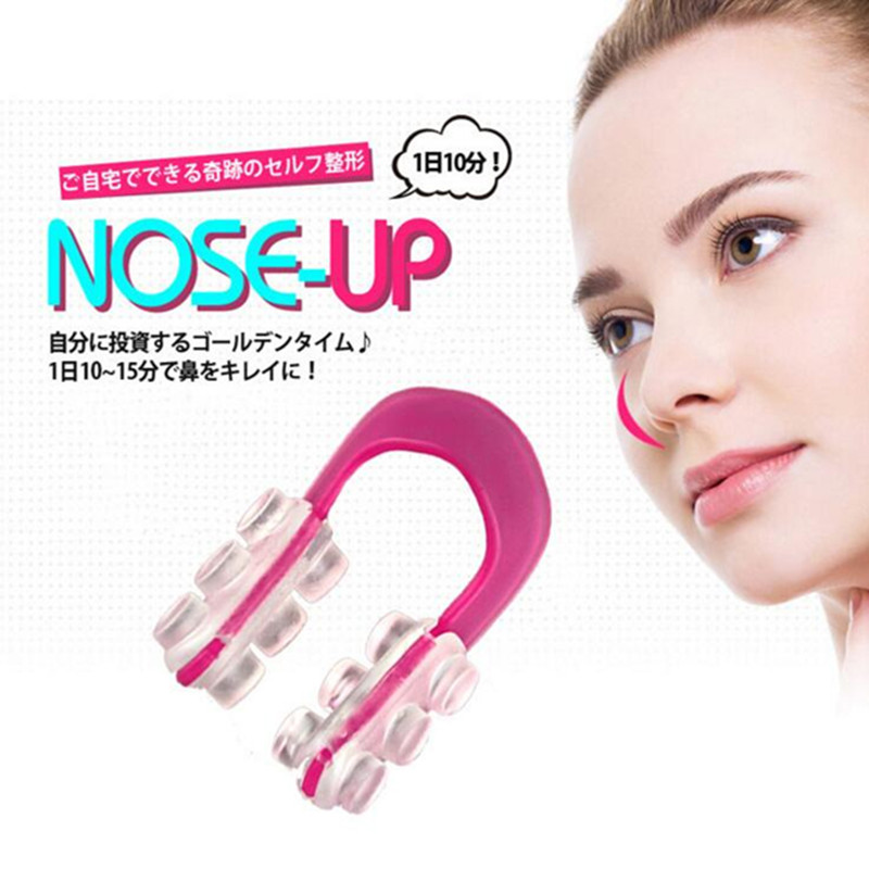 Beauty Care Nose Up Lifting Shaping Clip Clipper Shaper Bridge Straightening Beauty Nose Clip Corrector Massage Tool #230