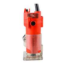 meterk 220V 30000rpm 6.35mm Multifunctional Portable Electric Trimmer Router