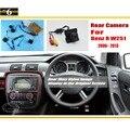 Car Câmara de Visão Traseira/Back Up Câmera Reversa Para Mercedes Benz W251 R 2006 ~ 2013/RCA & Tela Original compatível