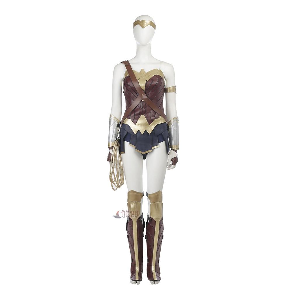 Athemis Movie Wonder Woman Princess Diana Cosplay  Gamora  Halloween perform Costumes full set high quality custom made