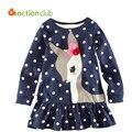 2 - 6 годы девушки футболка горячая конструкция продаж хлопчатобумажную рубашку для девочек Infantil дети 2015 с длинными рукавами одежды Roupas Infantis