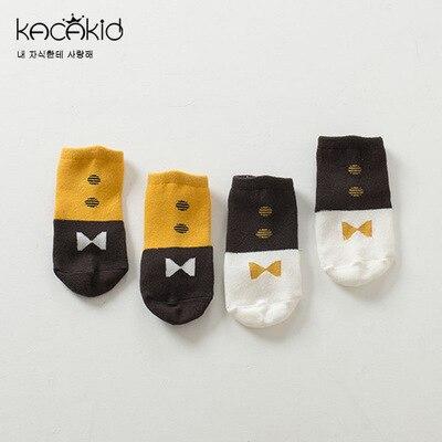 2017 cartoon sock cotton anti-skid socks newborn baby cravat all cotton socks wholesale free shipping