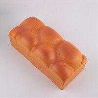 20 CM Toast Jumbo Brood Squishy Trage Stijgende Simulatie Squeeze Zoete Crème Scented Kwaii keuken pretend Voedsel speelgoed voor kinderen