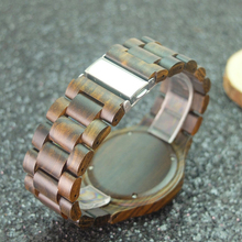 Luxury Brand Wooden Men Watch