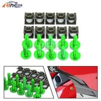 Universal 6mm Motorcycle Fairing Screw Kit Set Screws For Honda St1300 450 Crf Cbr 600
