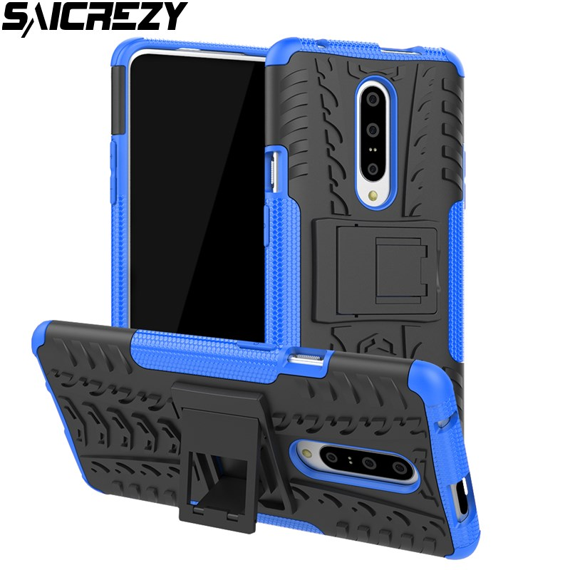 Armor Case For <font><b>Oneplus</b></font> 7 7T Pro Global Version Stand Full-body Protective Shell For <font><b>Oneplus</b></font> 5 5T 6 <font><b>6T</b></font> Hard Back <font><b>Smartphone</b></font> Cover image