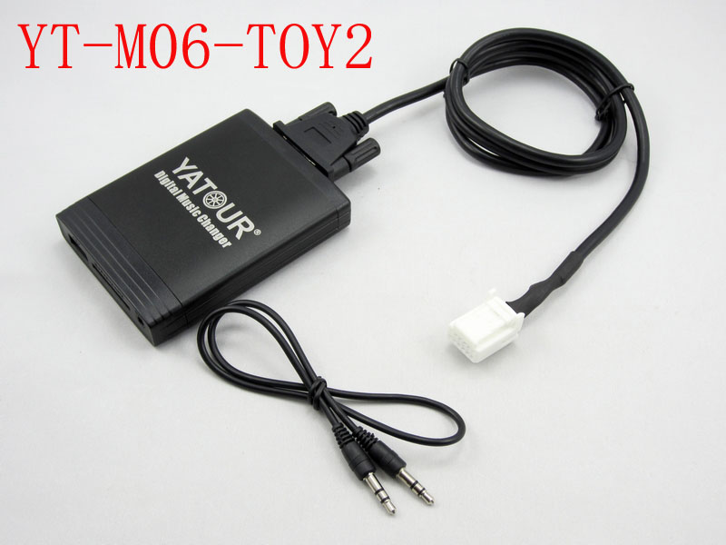 Yatour for Avensis 2003-2011 Corolla 2005-2011 Toyota Lexus Scion 2003-13 Car stereo USB SD MP3 Bluetooth Adapter YTM06-TOY2 yatour car adapter aux mp3 sd usb music cd changer cdc connector for nissan 350z 2003 2011 head unit radios