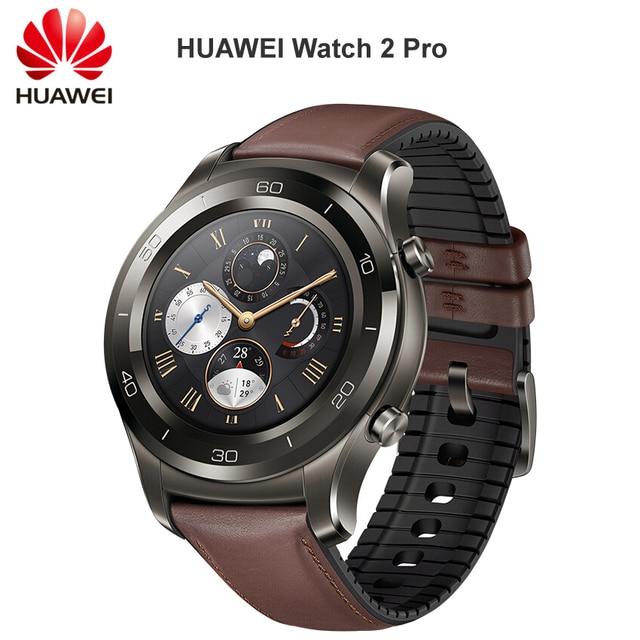 HUAWEI שעון 2 פרו חכם שעון תמיכת LTE 4G שיחת טלפון לב קצב שינה Tracker eSIM עבור אנדרואיד iOS IP68 עמיד למים NFC GPS
