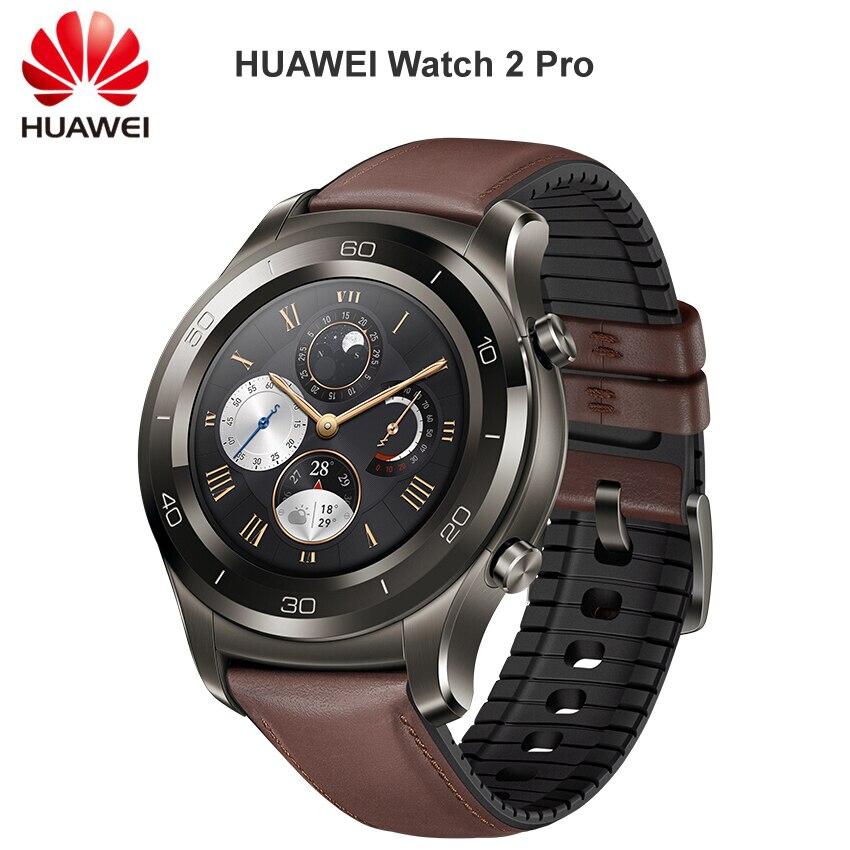 Montre huawei 2 Pro montre connectée Soutien LTE 4G Téléphone Appel Coeur Taux Sommeil Tracker eSIM Pour Android iOS IP68 Étanche NFC GPS