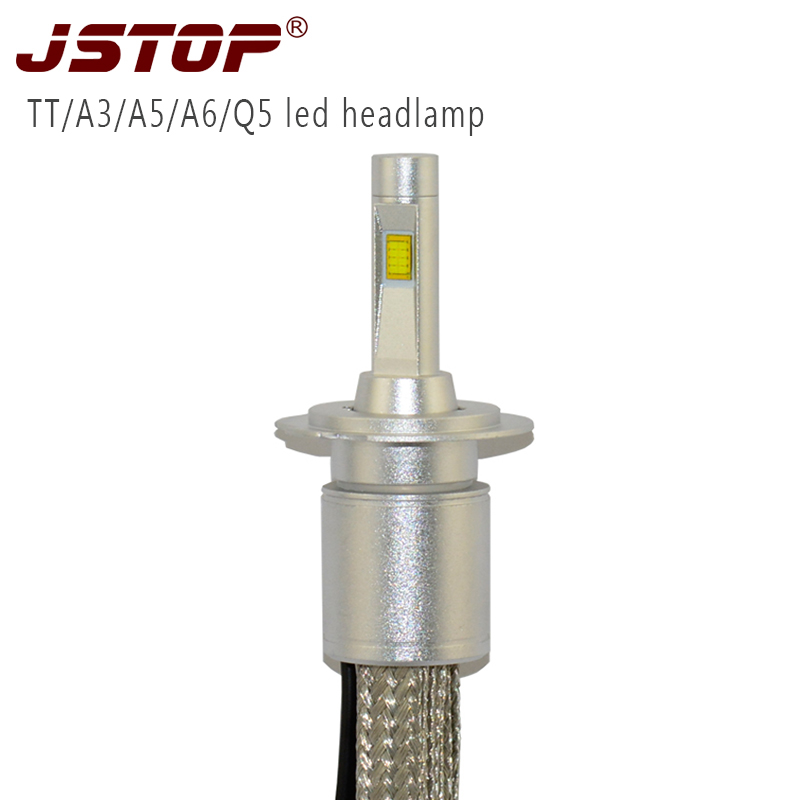 TT A3 A5 A6 Q5 led car headlamp Super Bright Headlights H7 H4 H1 Auto Bulbs 48W Automobiles Headlamp canbus 6000K led headlights high bright car headlights led bulb d33 h1 free canbus auto led white headlamp with yellow lights for vw jetta volkswagen golf 6