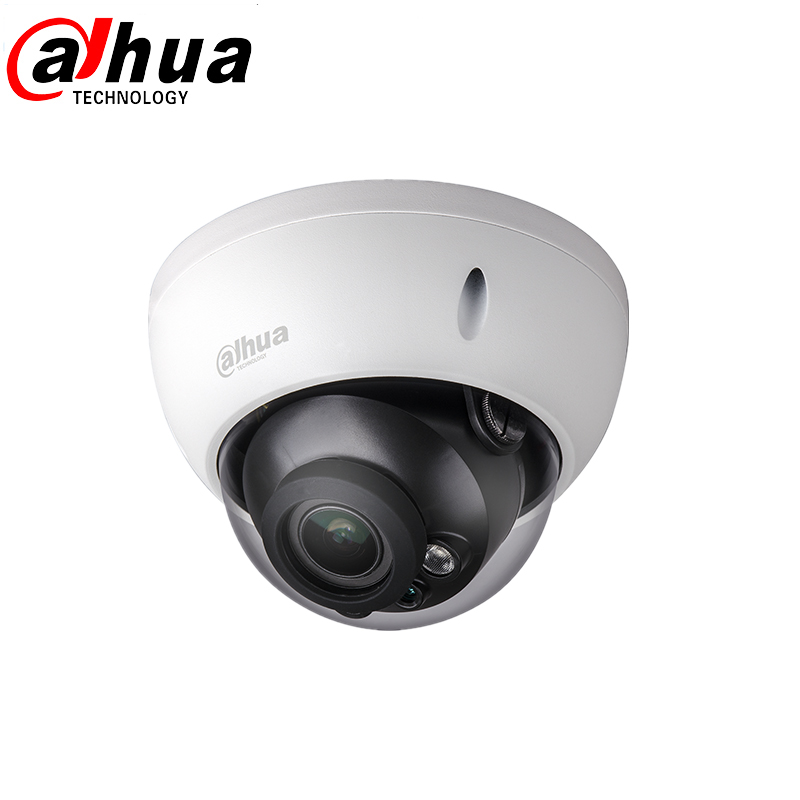 Dhua 2MP CMOS 2.7~12mm vari-focal lens 1/2.7 hdcvi dome camera IR LED length 30m Smart IR IP67 IK10 комплекты акустики focal pack dome 5 1 black