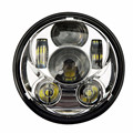 1PC Round 5.75'' inch daymaker  Motorcycle H4 hi lo beam Headlight  projector Lens Waterproof 5 3/4 Led Headlamp Bulb For Harley