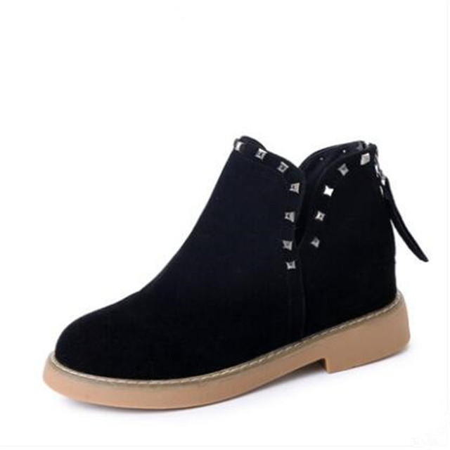 Chaussures à bout rond Angarde bleu marine Casual femme JLYMZI