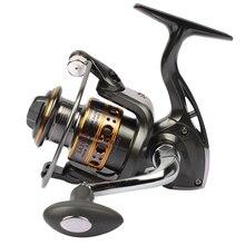 Spinning Pesca Carrete 12BB + 1 Bolas de Rodamiento 1000-7000 Series Hilado Carrete Rueda Barco de Pesca de Roca