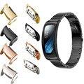 Полезно Нержавеющей Стали Разъем Подключения Смотреть Band Для Samsung Gear Fit 2 SM-R360 Смотреть Полоса Разъем