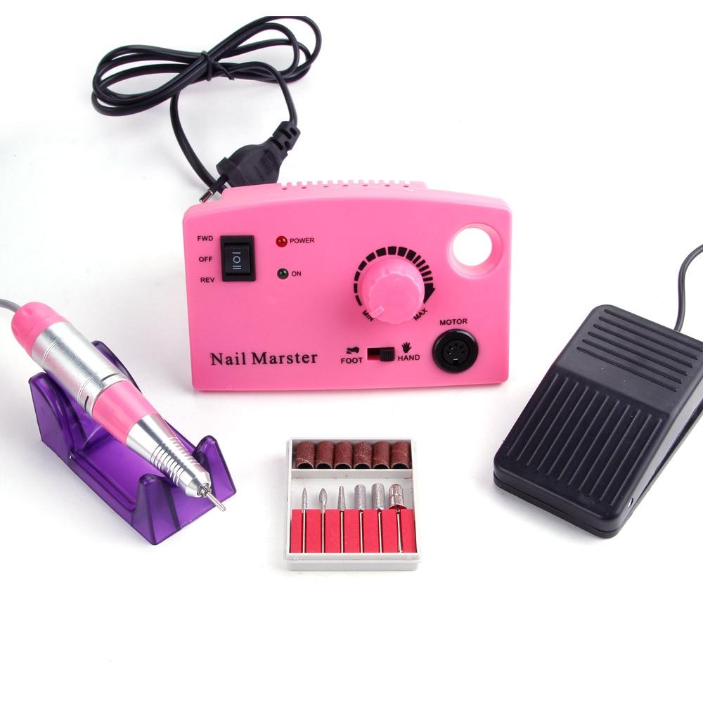 30000 tr/min 25 W manucure électrique perceuse à ongles Machine fraise à ongles fraise pédicure manucure perceuse à ongles outils de polissage à ongles