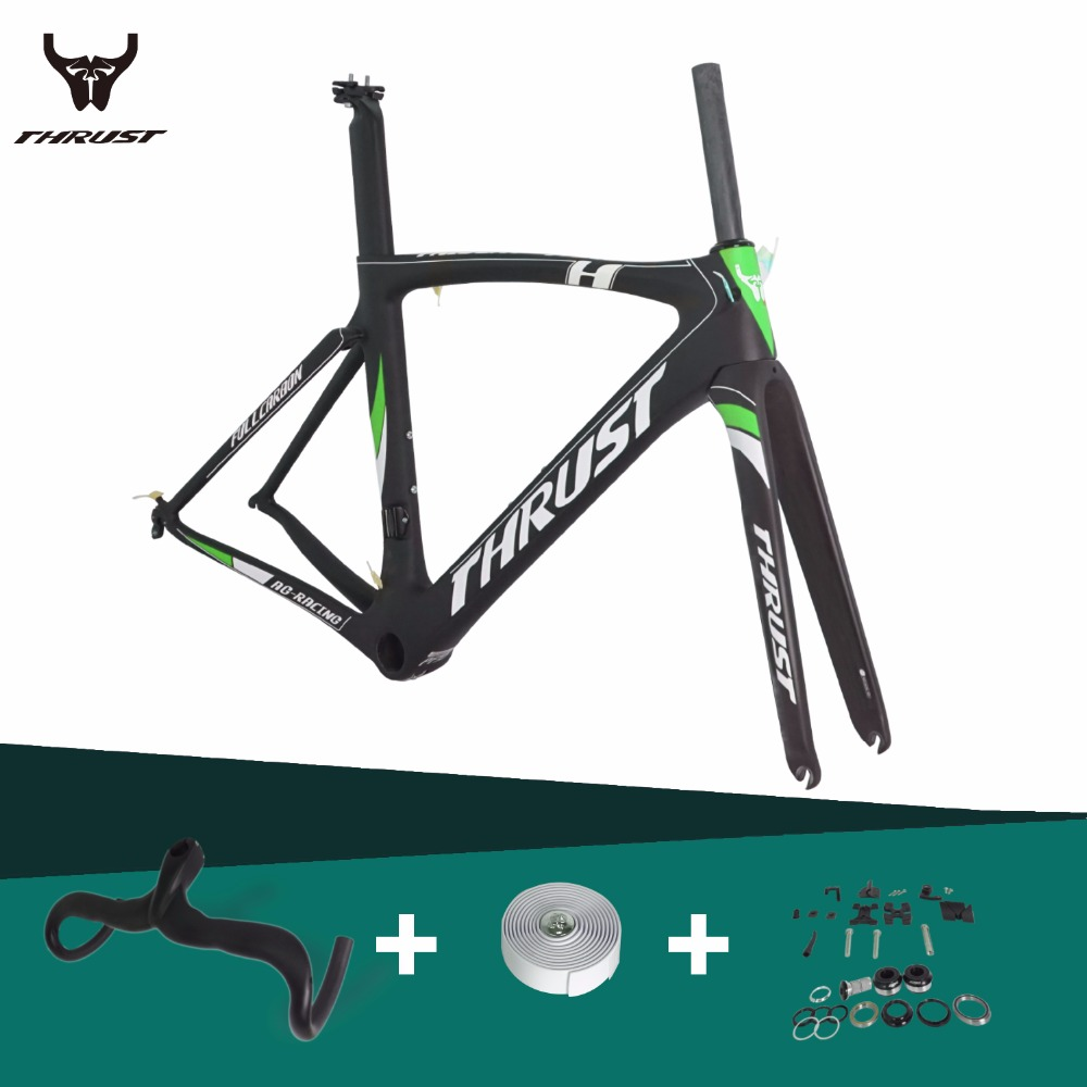2016 Carbon Road <font><b>Bike</b></font> <font><b>Frame</b></font> Road Racing Bicycle <font><b>Frame</b></font> Light Weight full carbon fiber road frameset with BB