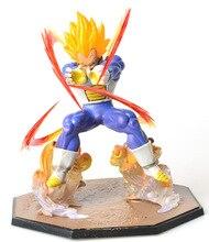 Anime Dragon Ball Z Goku Fighers Super Saiyan Prince Vegeta Manga Trunks Son Gokou Gohan Action Figure Model Collection Toy Gift