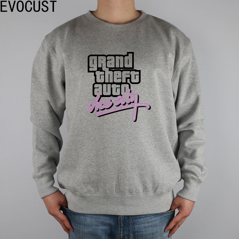Grand Theft Auto GTA VICE CITY men Sweatshirts Thick Combed Cotton