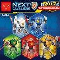 2017 nuevo próximo cavalier nexus caballeros de armadura mech robot building block ladrillo de arcilla arma lanza macy axl aaron com. legoeinglys. juguetes