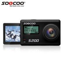 S200 SOOCOO Action Sport Camera 170 Graus de Largura Lente Da Câmera HD 4 K Tela LCD Touch 2.45 Câmera de Ação com Wi-fi de Controle de Voz