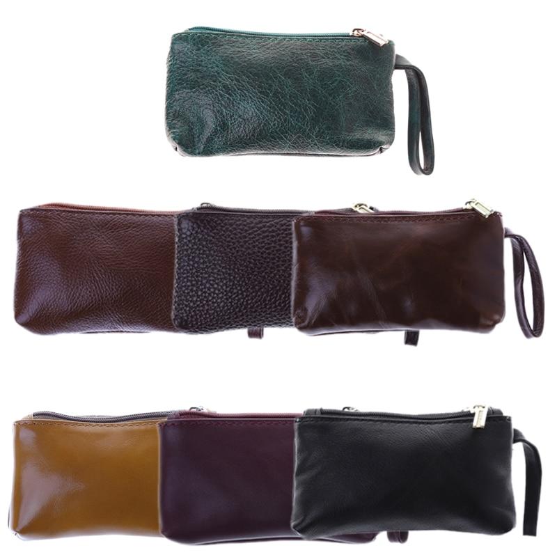 THINKTHENDO Soft Men Women Card Coin Key Holder Portable Zip Wallet Pouch Bag Purse Case ...