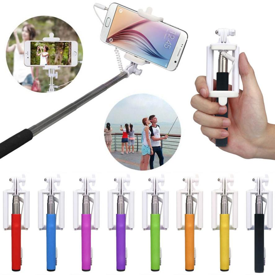 HL 2017 Hot-sale Selfie Sticks Gifts 16-50cm Handheld Extendable Stick