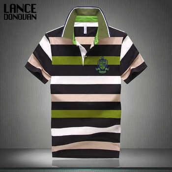 7 estilos gran venta 2015 nueva llegada Camisa Polo para hombre moda buena calidad clásica rayas Homme Camisa