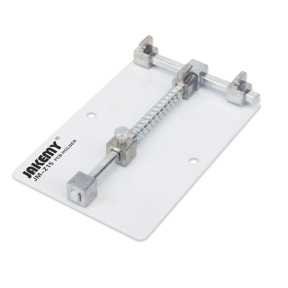 1pc Stainless Steel Mobile Phone Pcb Fixtures Repairing Circuit New Boards Universal Metal Holder Clamp Fixture Work Station For Iphone Samsung Motherboard Repair Tools