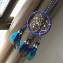11 cm Diámetro Native American Dream Catcher Decoración con Plumas Feather Dream Catcher Decoraciones Regalos