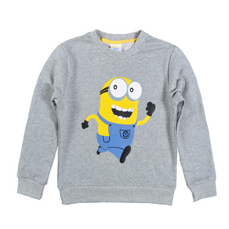 New 2017 Boy Clothes Anime Pattern Children T Shirts Cotton Sweatshirt Kids Long Sleeve Girl T-shirt Autumn Spring Top Tees