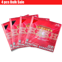 4pc DoubleFish Hunting Shadow 8338 Professional Inner Power Table Tennis Racket Rubber Tyre with Sponge Strong Friction And Spin