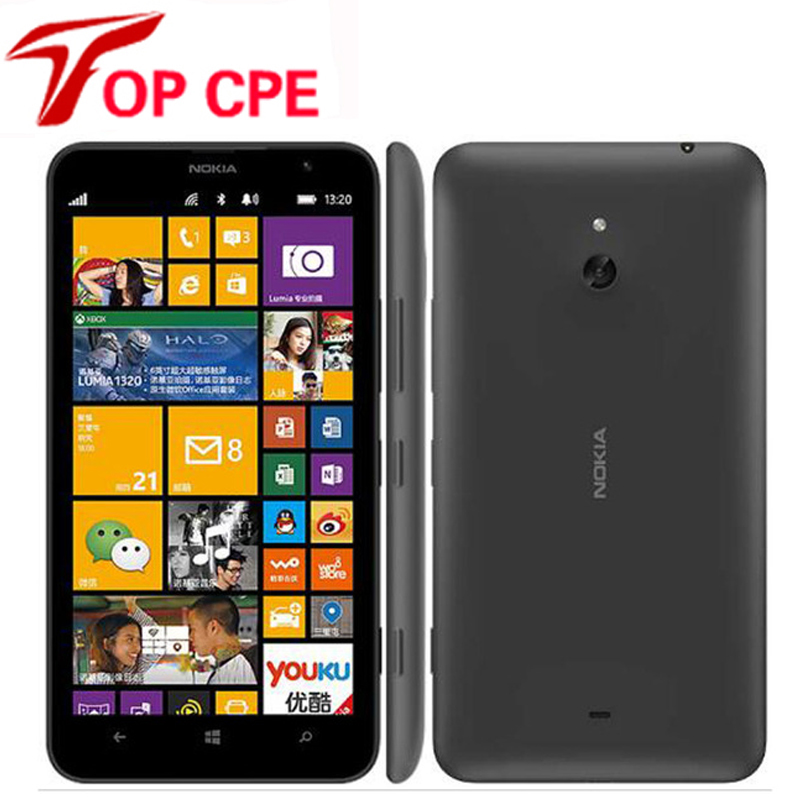 Nokia Lumia 1320 Original Unlocked cell phones Dual Core 6 ...