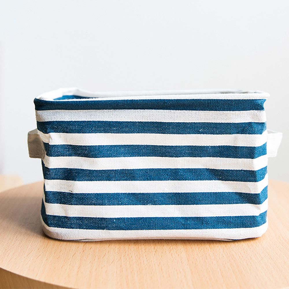 Dirty Laundry Baskets Linen Pu Laundry Basket Storage Basket Foldable Striped Dirty Clothes Baskets Storage Underwear Dirty Laundry Basket Organizer In Storage Baskets