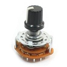 KSOL Электронная Машина 3P4T 3 Полюс 4 Позиция 2 Палуба 15 Контактный Переключатель Rotary Switch